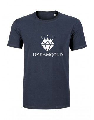 NAVY DIAMOND SHIRT