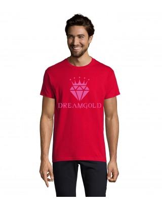 T Shirt Rouge et rose