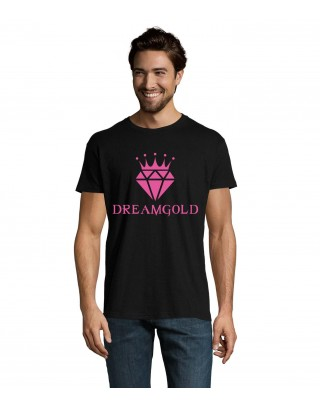 Tshirt Noir et Rose