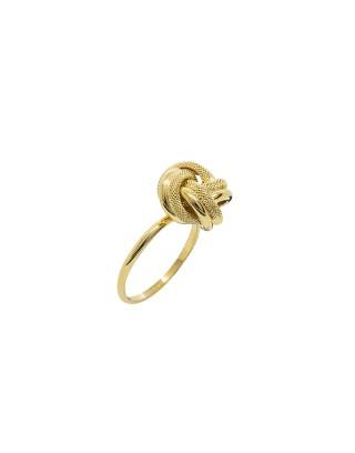 RING NOEUD - OR 18K