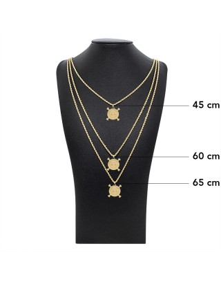 PENDANT ONE PIECE - OR 18K