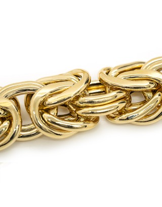 MAILLE ROYALE - 22mm - OR 18K