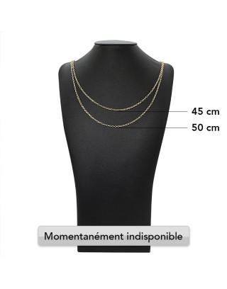 MAILLE SIMPLE - 1mm - OR 18K
