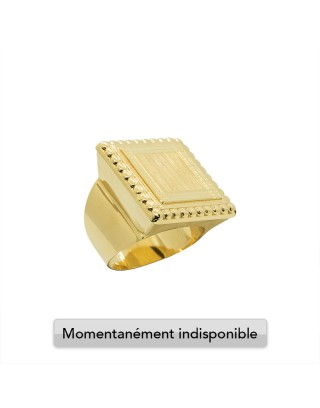 CHEVALIERE BISCUIT - OR 18K
