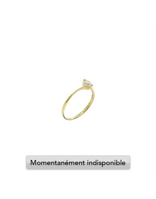 RING SOLITAIRE S - OR 18K