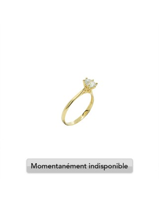 RING SOLITAIRE M - OR 18K