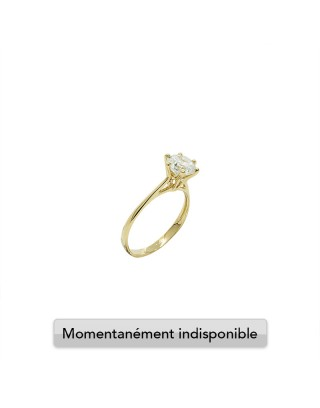 RING SOLITAIRE L - OR 18K